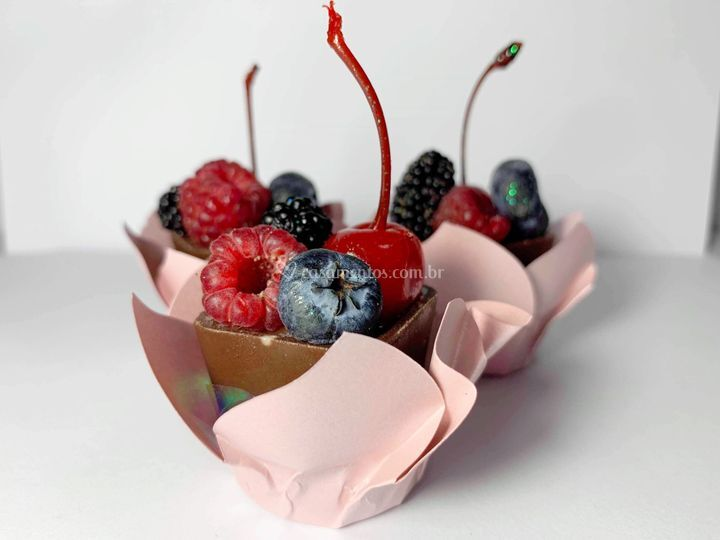 Caixinha com Frutas Vermelhas