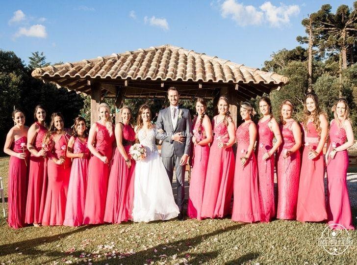 Madrinhas Pink