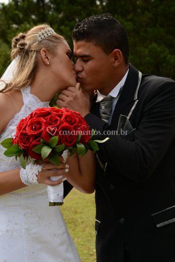 Beijo do casal 3