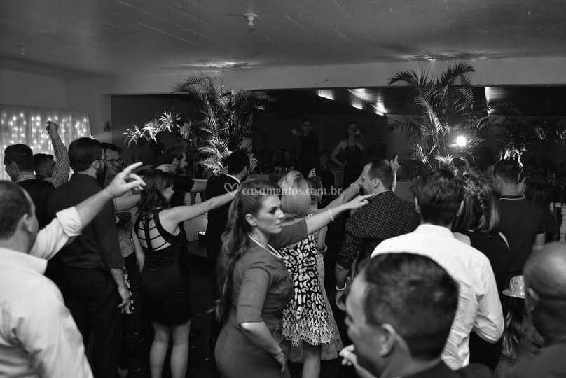 Danças coreografadas