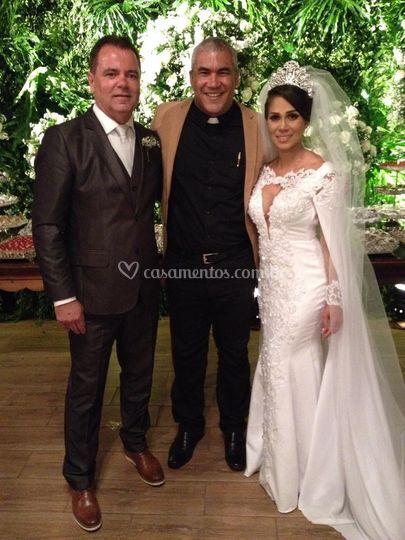 Karine e Leandro