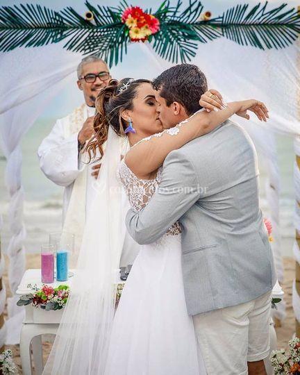 Cerimônia de Ellen e Bruno