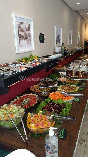 Buffet de saladas