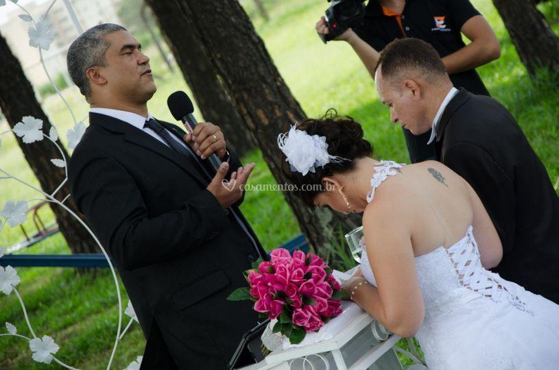 Cerimônia de Agnaldo e Renata