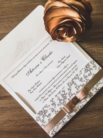 Danieli - Convite de Casamento