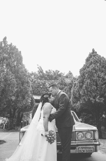 Casamento de fim de tarde