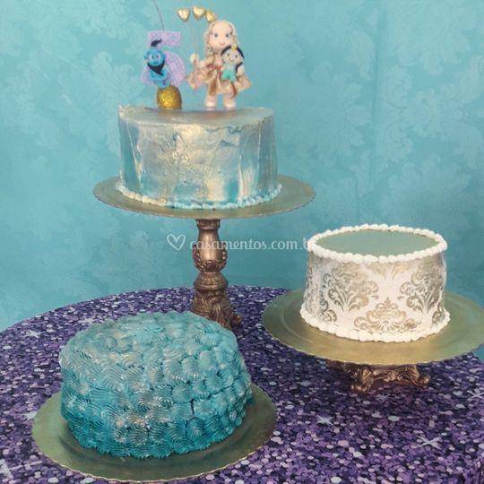 Trio de bolo