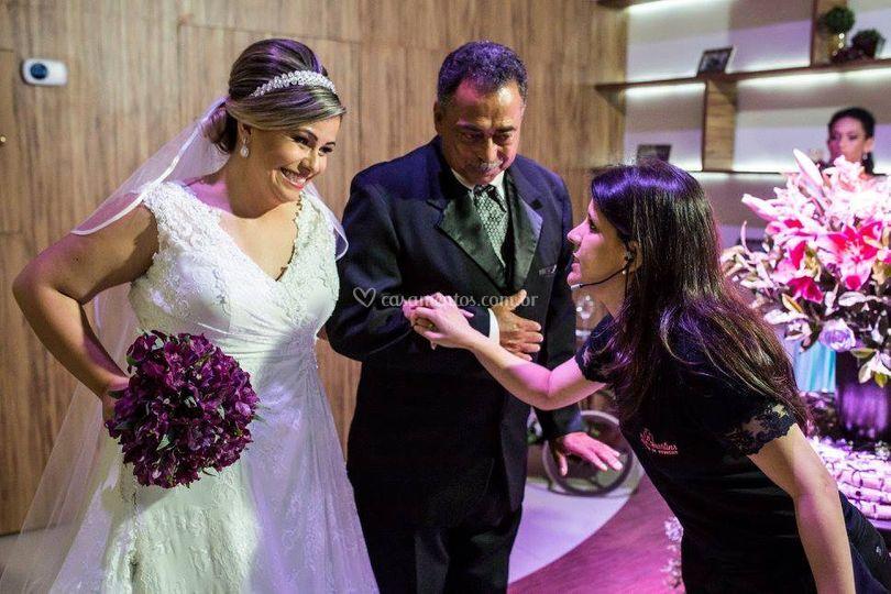 Orientação entrada da noiva