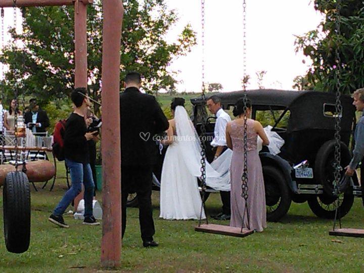 Preparativos do casamento