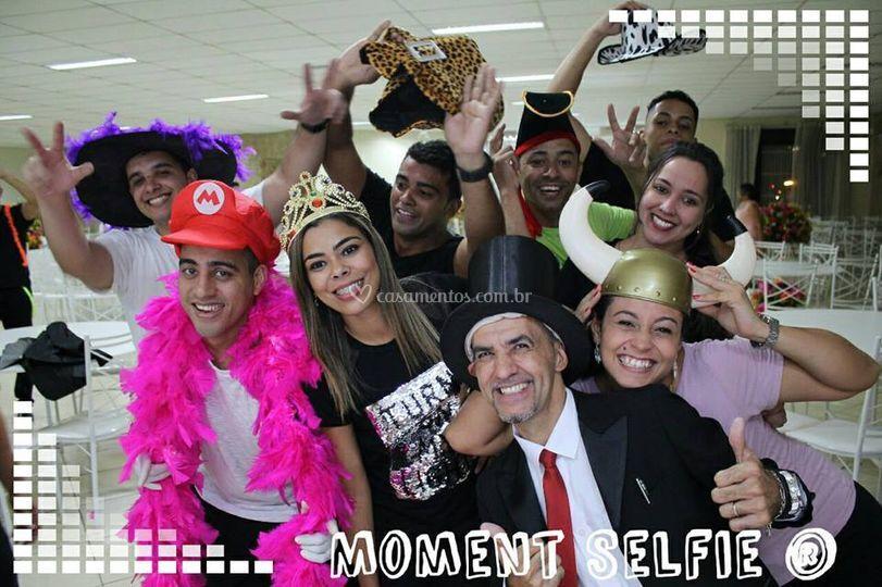 Moment selfie
