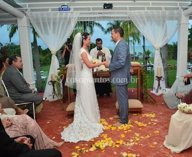 Fotos durante a cerimônia