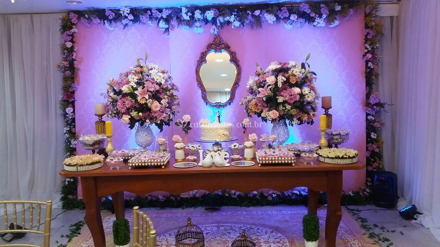 Mesa dos doces