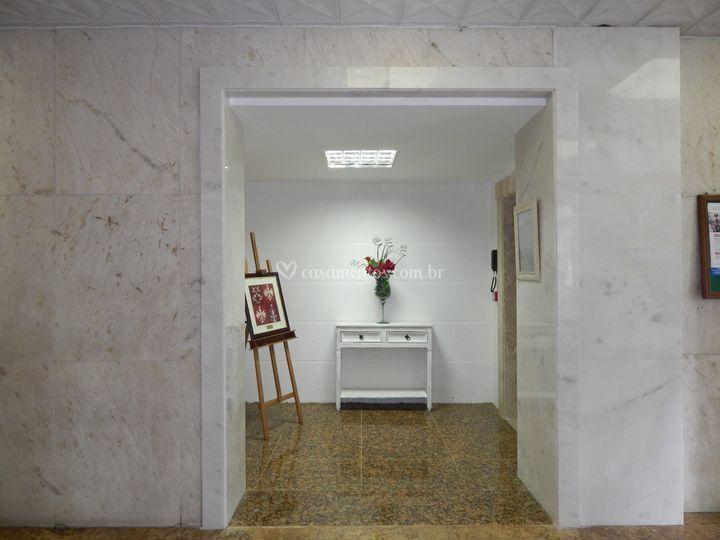 Hall entrada elevador