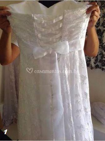 Vestido Noiva renda- 1