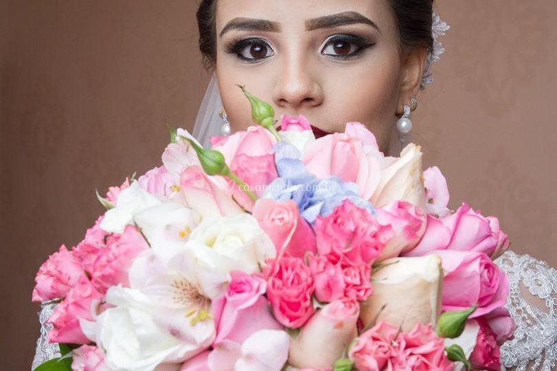 Linda noiva Brunna