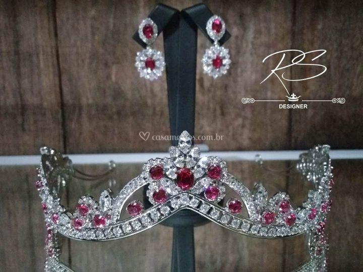 Coroa em Diamante Hibrido