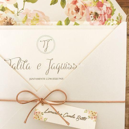 Convite Talita