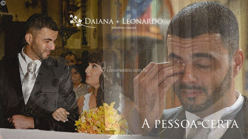 Daiana e Leonardo