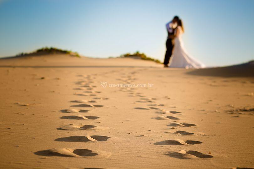Ensaio Pós Wedding na Praia