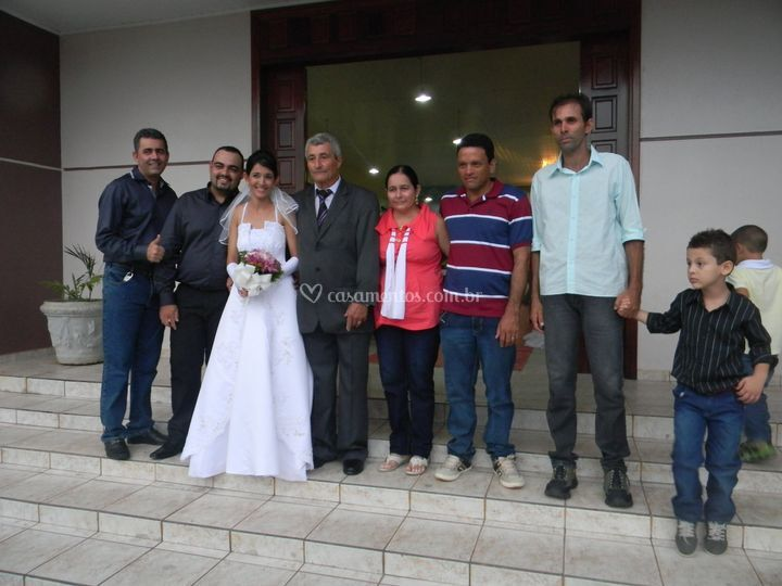 Familia da Noiva