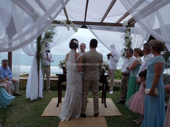 Mini wedding no Rosa