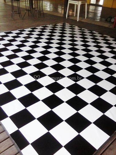Pista de dança xadrez