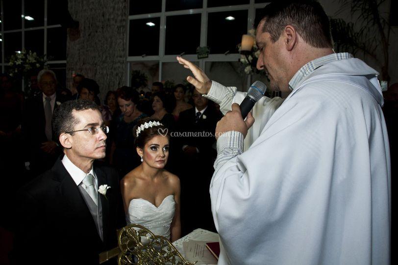 Casamento em salão de festas