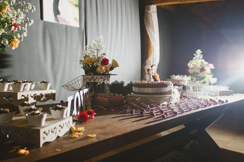 Mesa decoraçao
