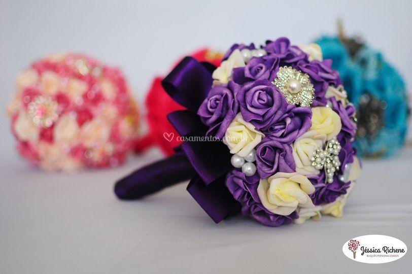 Buquê Purple