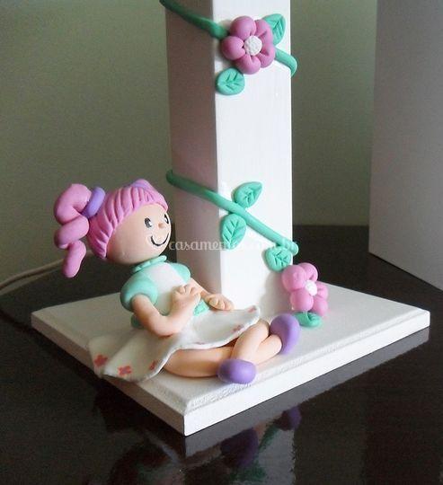 Arte em biscuit