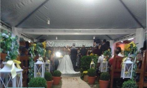 Tenda para casamento