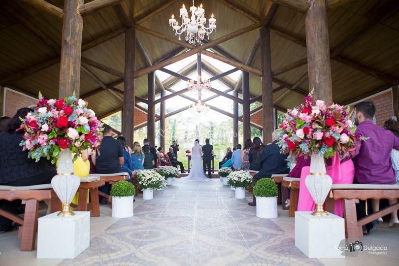 Corredor de cerimônia