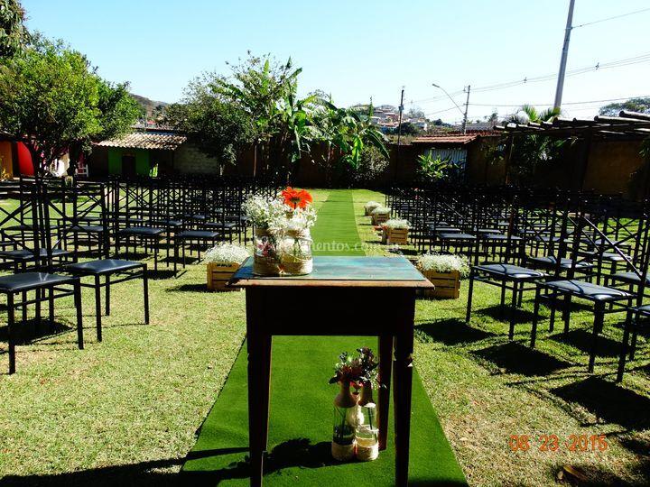 Cerimônia diurna