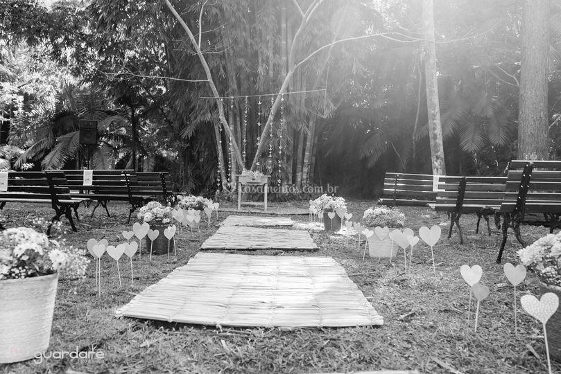 Casamento no Bambuzal