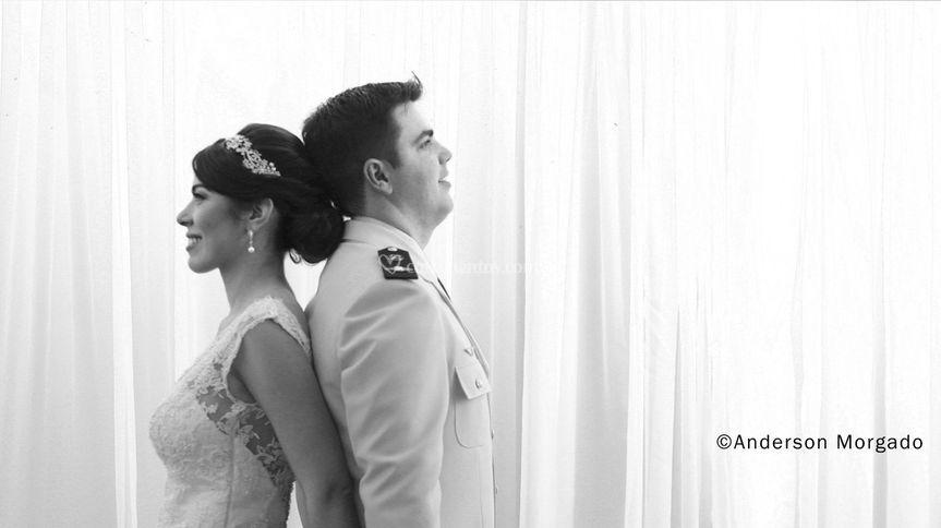 Momentos antes da cerimônia