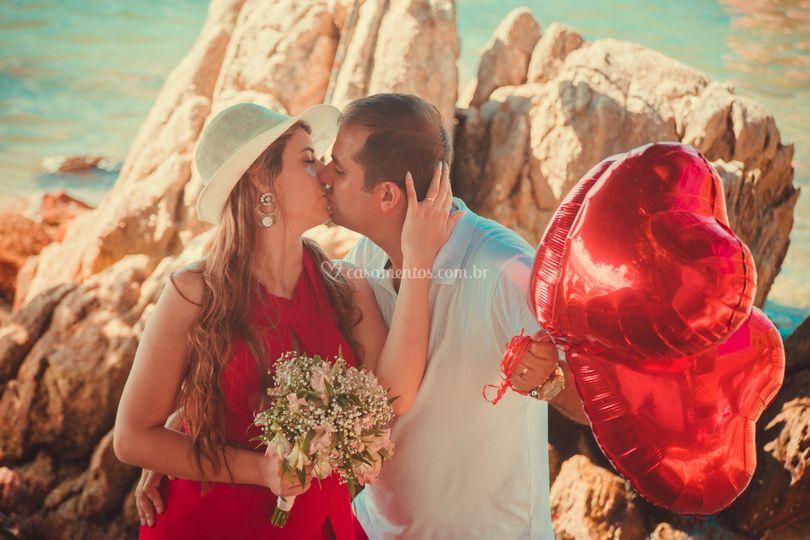 Pré-Wedding em Praia SC