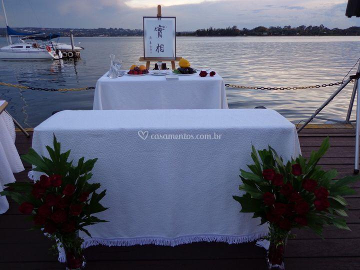 Altar ao anoitecer sni