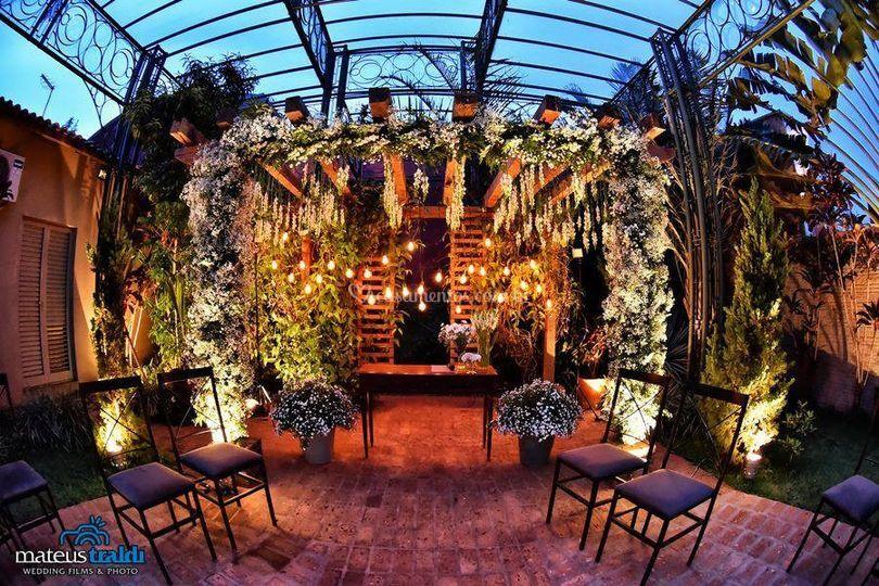 Jardim de cerimonias