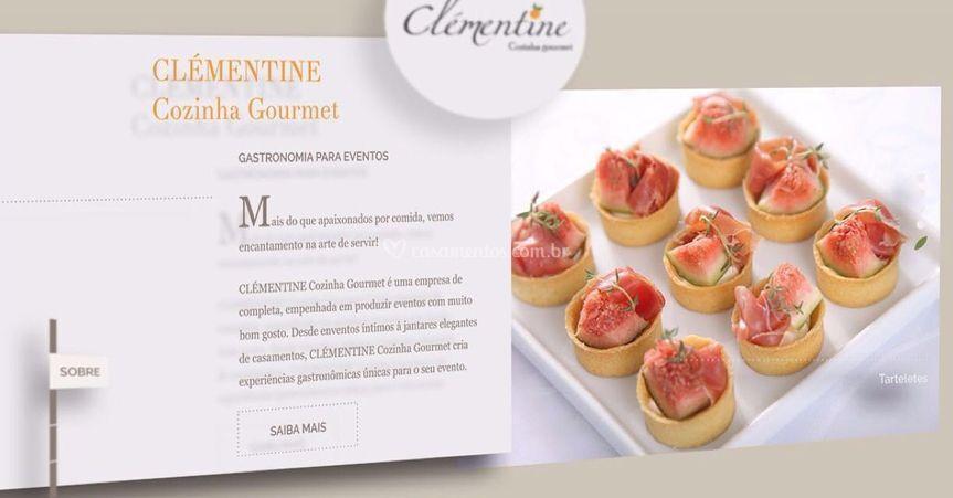 Site da Clémentine Cozinha