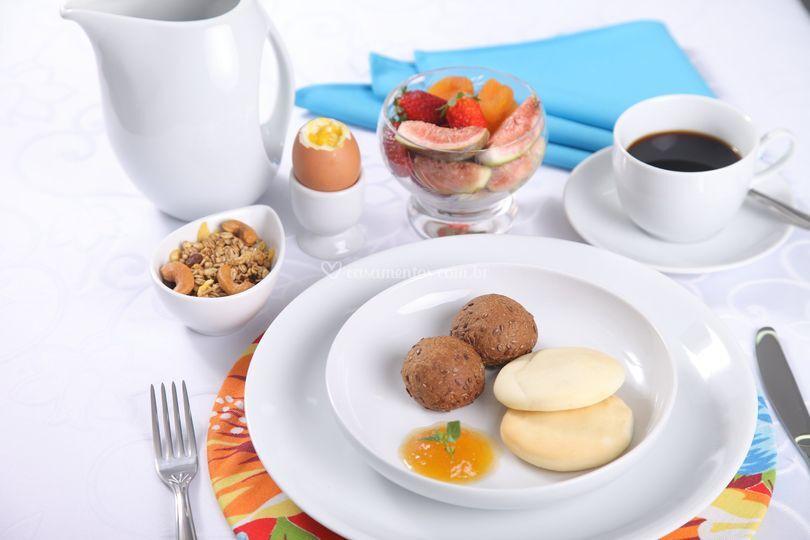 Coffee break, café da manhã