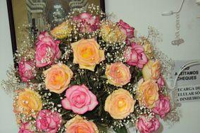 Rosa cor rosa e champagne