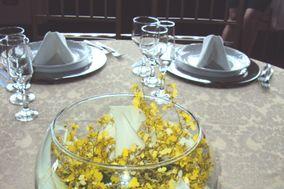 Copo de leite e orquídea