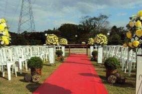Flor do campo amarela