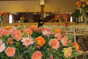 Rosas e gerberas