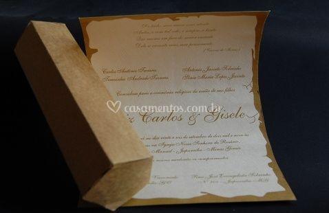 Convite caixa