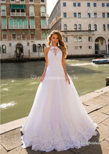 Vestido de Noiva Evaze 2019