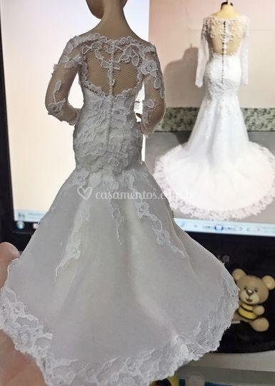 Comparação vestido