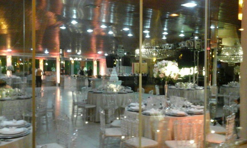 Salão amazon decorado