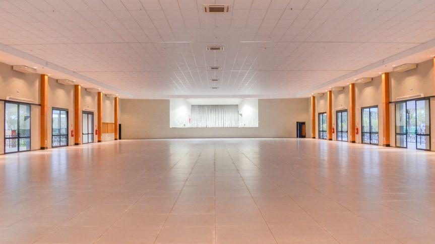 Salão principal.