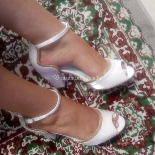 Sandália cristal